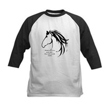 Horses arent my Whole Life Quote Horse Head Logo B