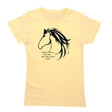 Horses arent my Whole Life Quote Horse Head Logo G