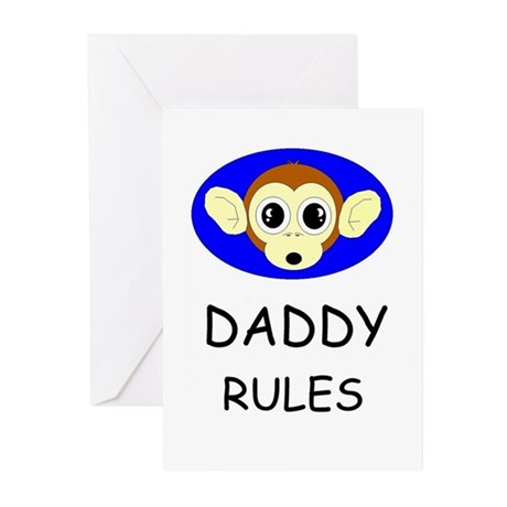 HAPPY FATHER'S DAY -#1 DAD Greeting Cards (Package