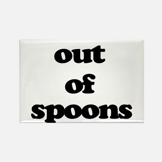 Out of Spoons Magnets