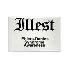 Illest Ehlers-Danlos Syndrome Awareness Magnets