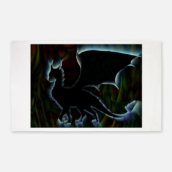 Dragon Aura 3'x5' Area Rug