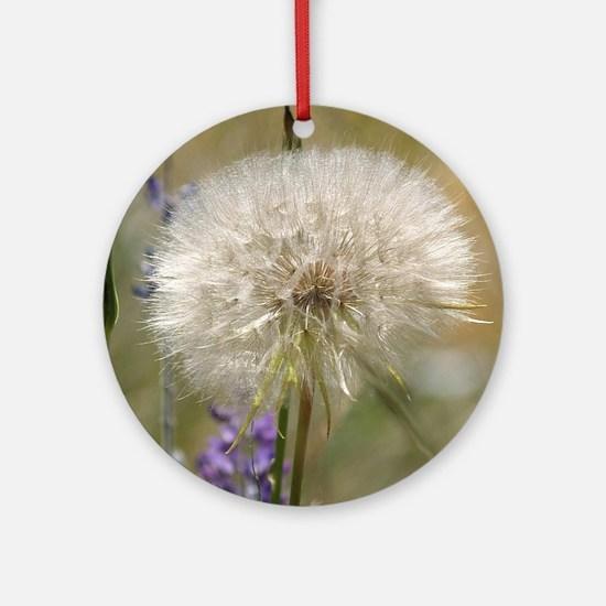 Dandelion Ball Ornament (Round)