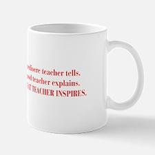 Great teacher inspires, quote, grammar, humor, fun