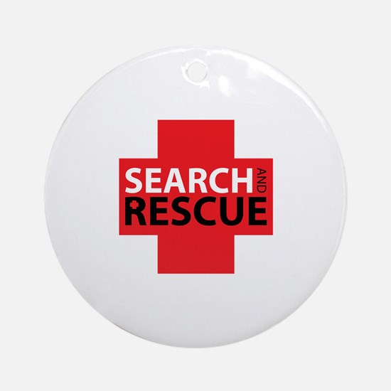 Search And Rescue Ornament (Round)