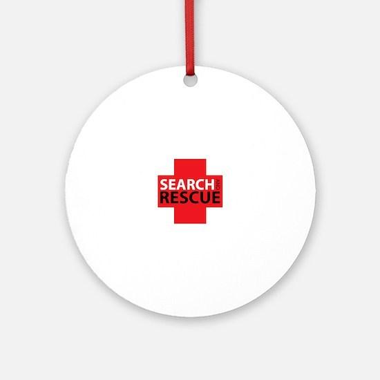 Search And Rescue Ornament (Round)