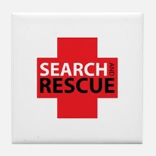 Search And Rescue Tile Coaster
