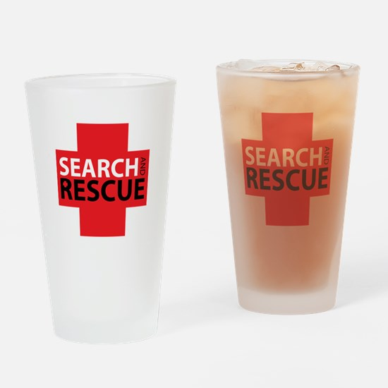 Search And Rescue Drinking Glass