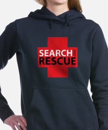 Search And Rescue Women's Hooded Sweatshirt