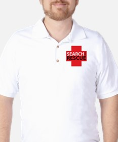 Search And Rescue Golf Shirt