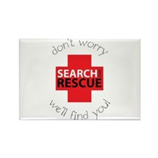 Don't Warry We'll Find You! Magnets