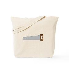 Wood Saw Tote Bag