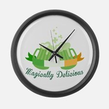 Magically Delicious Large Wall Clock