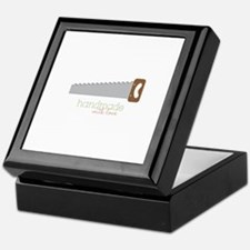 Handmade with love Keepsake Box