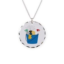 Cleaning Bucket Necklace