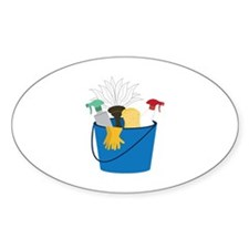Cleaning Bucket Decal