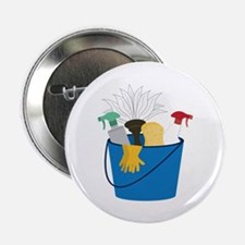 """Cleaning Bucket 2.25"""" Button"""
