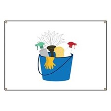 Cleaning Bucket Banner