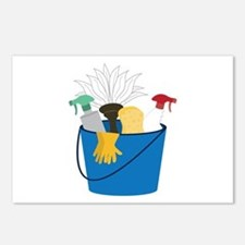 Cleaning Bucket Postcards (Package of 8)