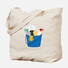Cleaning Bucket Tote Bag