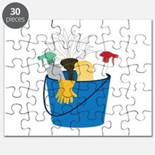 Cleaning Bucket Puzzle