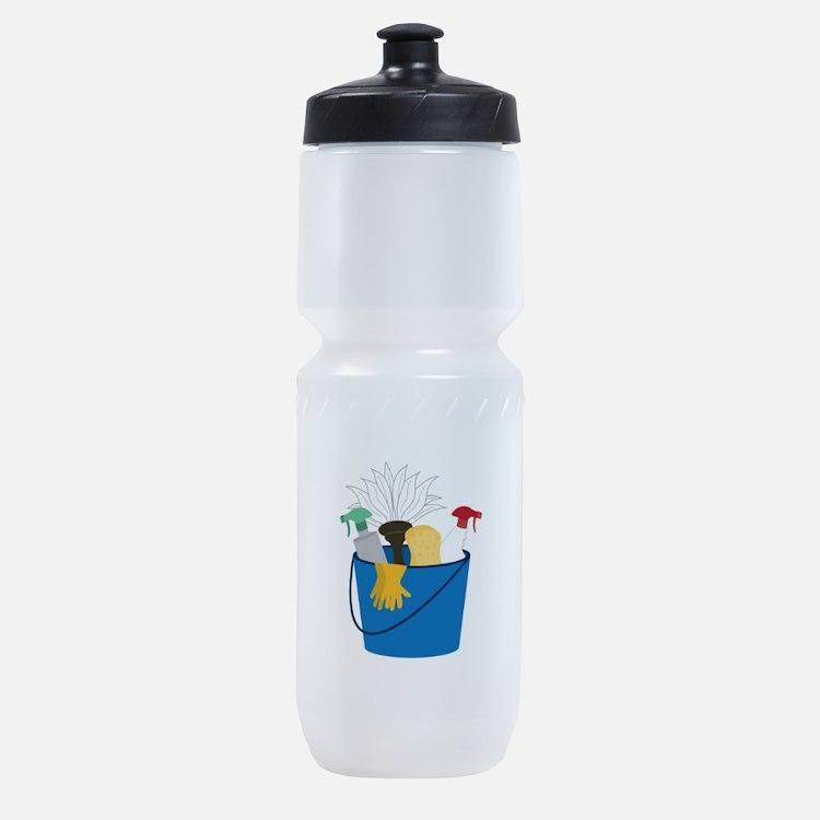 Cleaning Bucket Sports Bottle