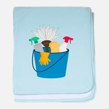Cleaning Bucket baby blanket