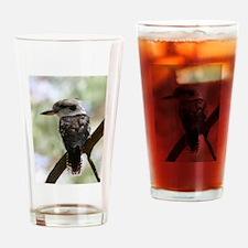 Kookaburra in Old Gum Tree Australi Drinking Glass