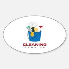 Cleaning Service Decal
