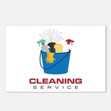 Cleaning Service Postcards (Package of 8)