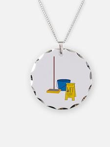 Mop Bucket Necklace