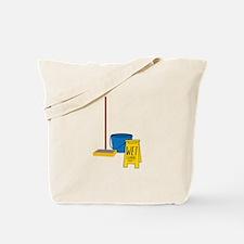 Mop Bucket Tote Bag