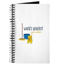 World's greatest janitor Journal