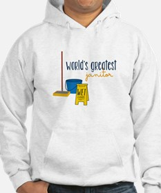 World's greatest janitor Hoodie