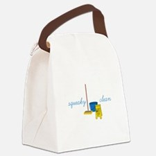 Squeaky clean Canvas Lunch Bag