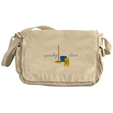 Squeaky clean Messenger Bag