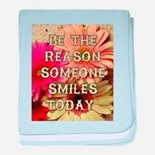 BE THE REASON baby blanket