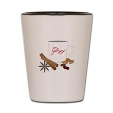 Winter Glogg Shot Glass