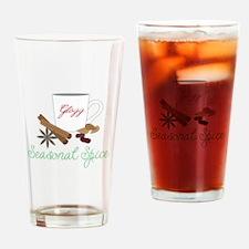 Seasonal Spice Glogg Drinking Glass