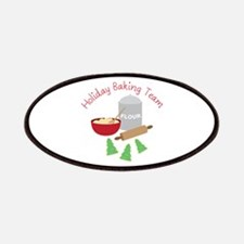 Holiday Baking Team Patches