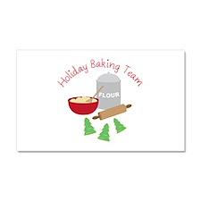 Holiday Baking Team Car Magnet 20 x 12