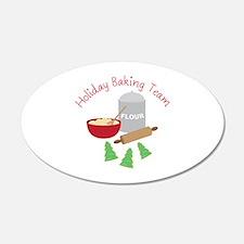 Holiday Baking Team Wall Decal