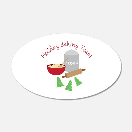 Holiday Baking Team Wall Decal