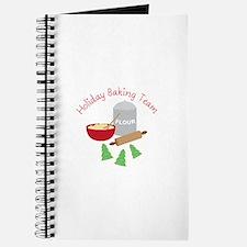 Holiday Baking Team Journal