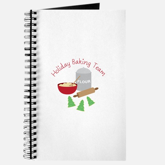 Holiday Baking Team Journal