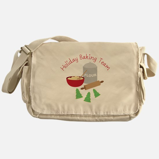 Holiday Baking Team Messenger Bag