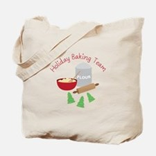 Holiday Baking Team Tote Bag