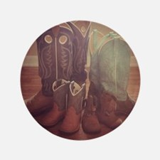 """BOOTS FAMILY 3.5"""" Button (100 pack)"""