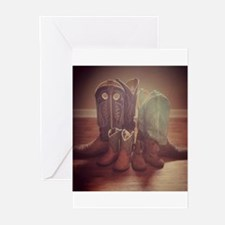 BOOTS FAMILY Greeting Cards
