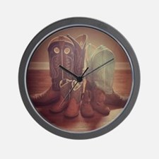 BOOTS FAMILY Wall Clock